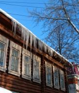 Лед на крыше и не только