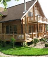 Преимущества деревянного каркасного дома